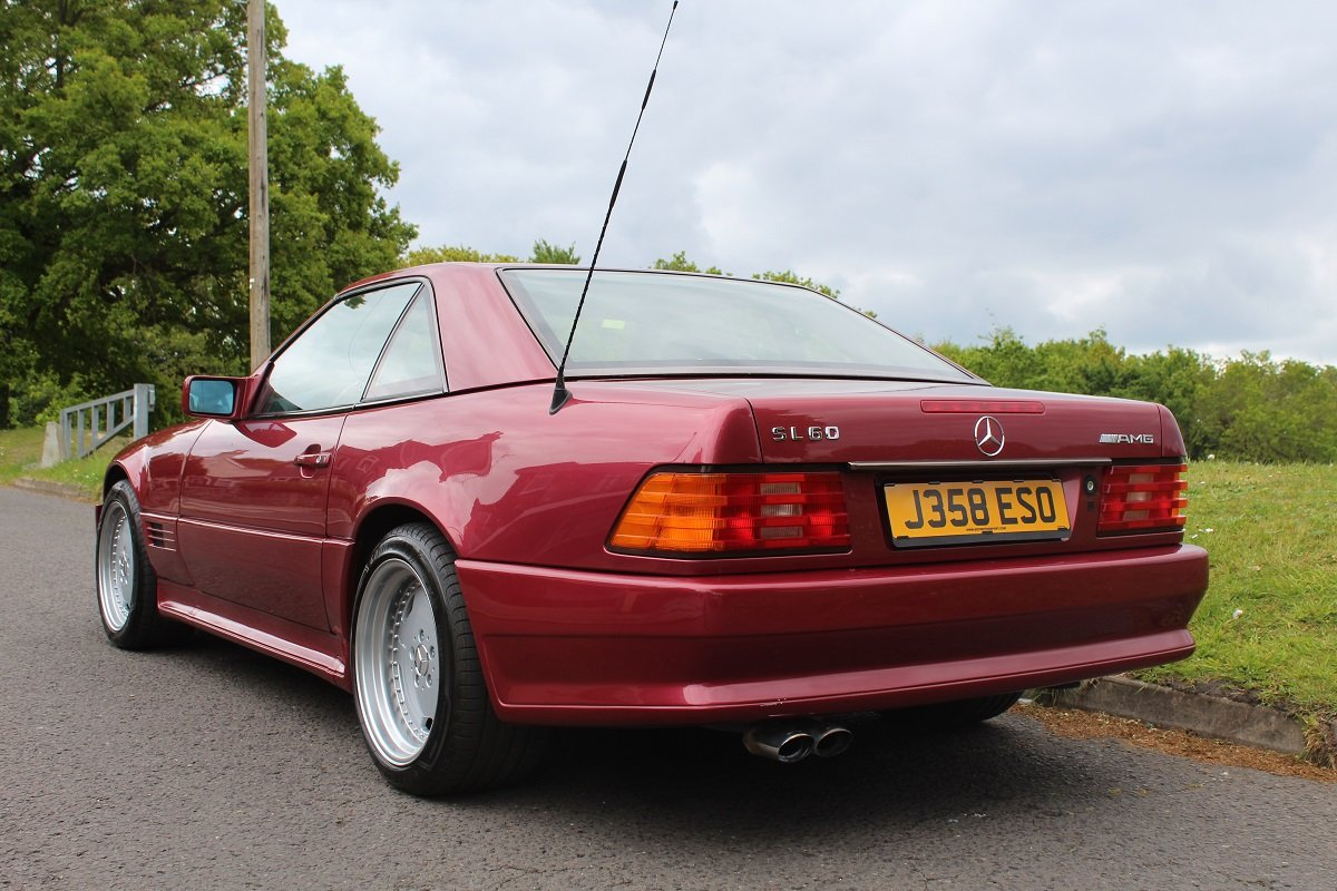 Mercedes SL500 AMG 1992 - To be auctioned 26-07-2019 For Sale by Auction (picture 2 of 6)