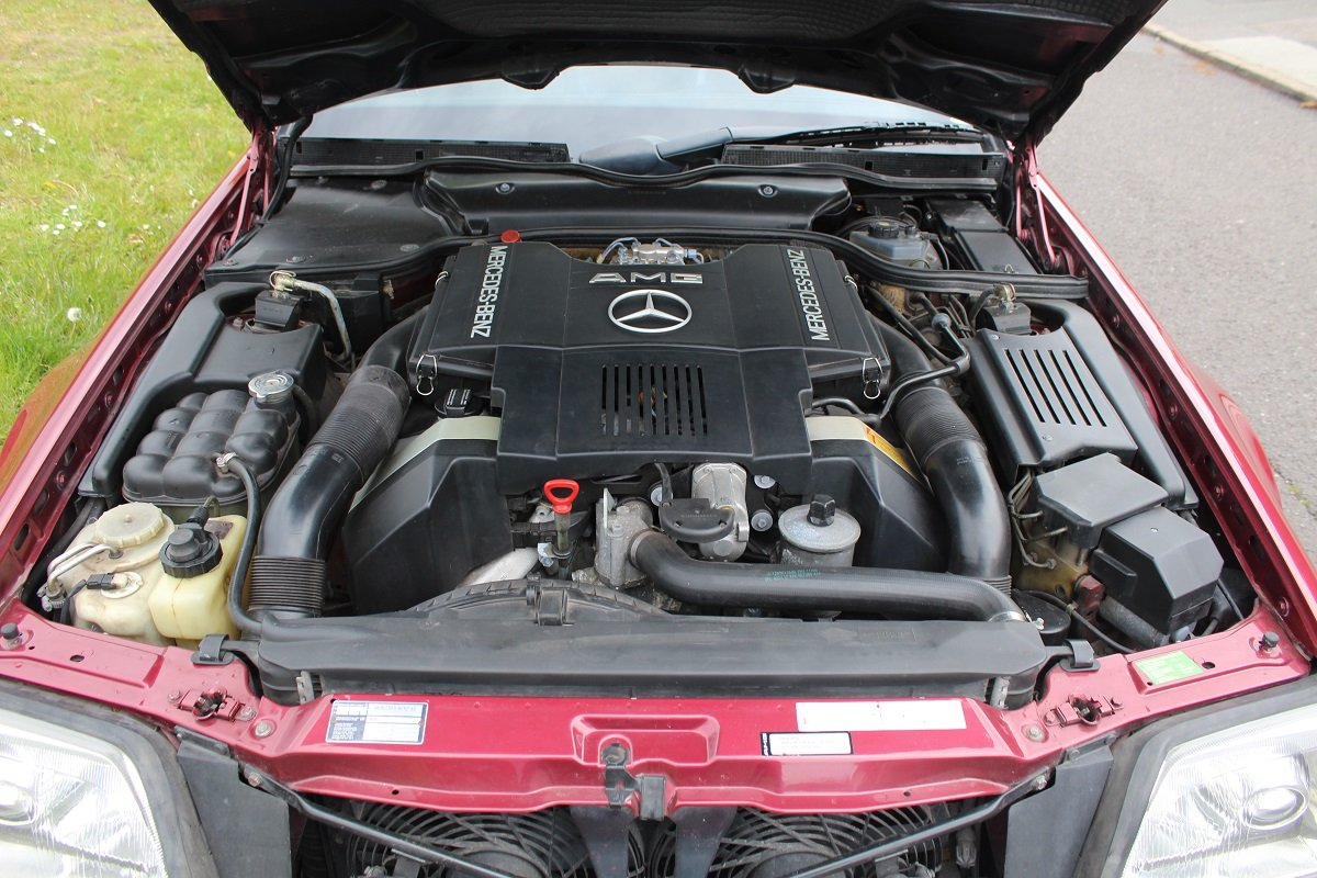 Mercedes SL500 AMG 1992 - To be auctioned 26-07-2019 For Sale by Auction (picture 5 of 6)