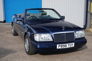 1996 Mercedes E220 Convertible (A124), Auto, History, Extras, 99k For Sale