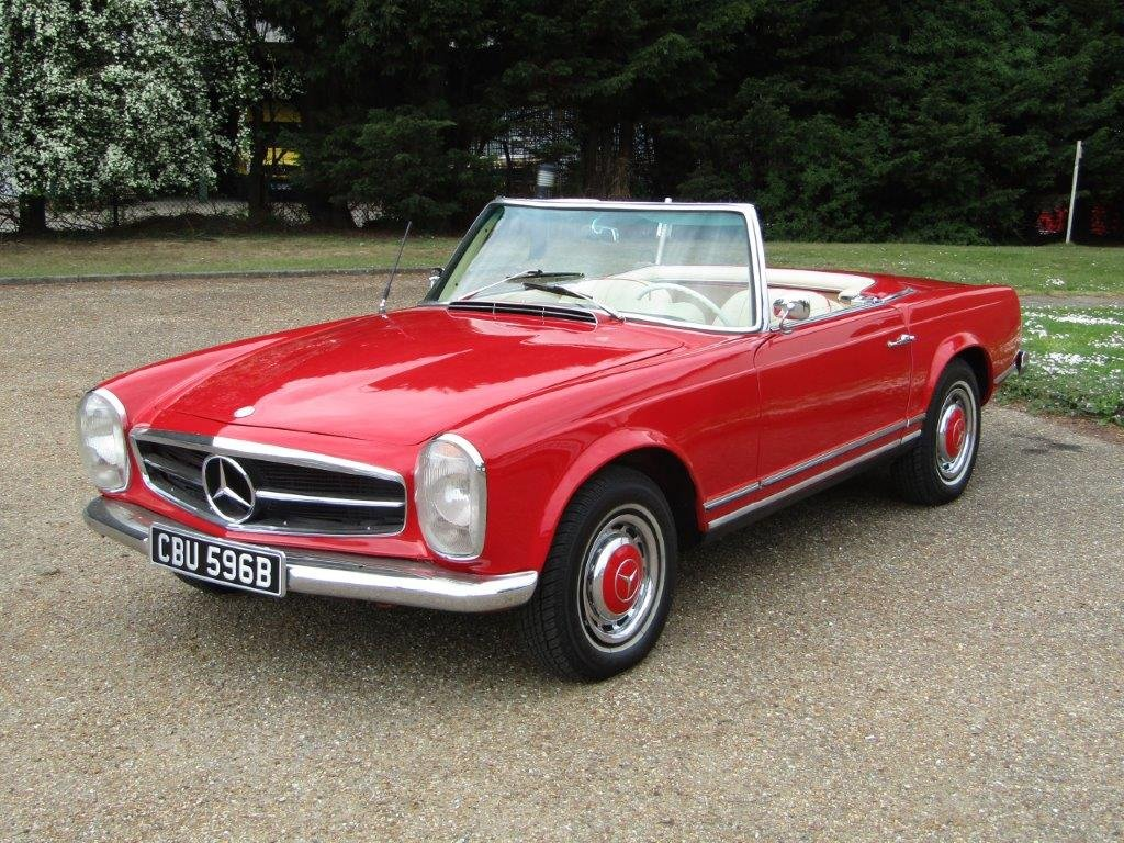 1964 Mercedes Benz 230 SL Pagoda LHD at ACA 15th June  For Sale (picture 1 of 6)
