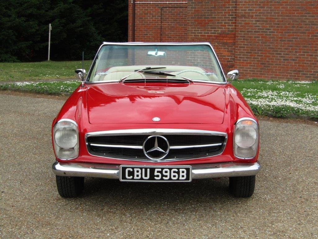 1964 Mercedes Benz 230 SL Pagoda LHD at ACA 15th June  For Sale (picture 2 of 6)