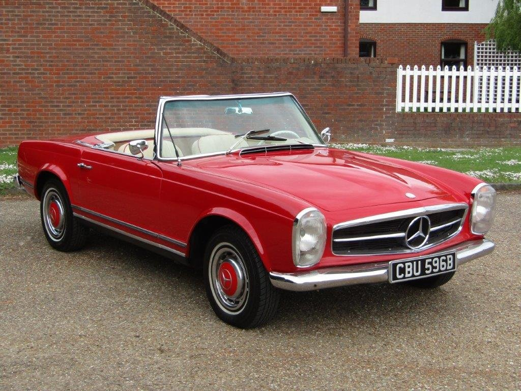 1964 Mercedes Benz 230 SL Pagoda LHD at ACA 15th June  For Sale (picture 3 of 6)