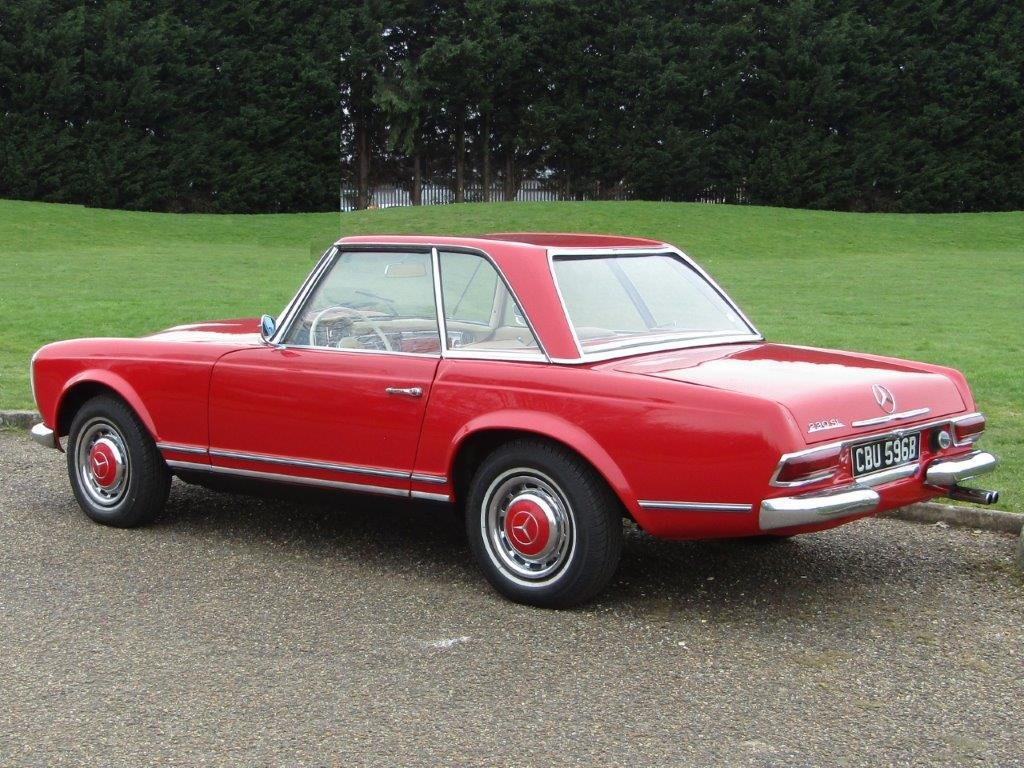 1964 Mercedes Benz 230 SL Pagoda LHD at ACA 15th June  For Sale (picture 6 of 6)