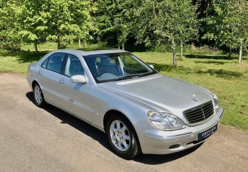 1999 Mercedes S500L LWB Huge Spec Sensational 11k miles from NEW SOLD (picture 1 of 6)
