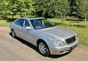 1999 Mercedes S500L LWB Huge Spec Sensational 11k miles from NEW For Sale