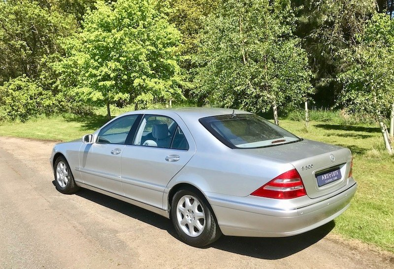 1999 Mercedes S500L LWB Huge Spec Sensational 11k miles from NEW SOLD (picture 2 of 6)