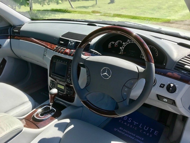 1999 Mercedes S500L LWB Huge Spec Sensational 11k miles from NEW SOLD (picture 3 of 6)