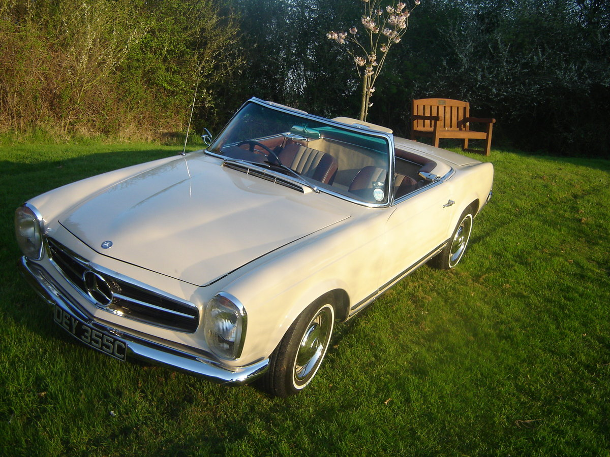 1965 230SL Pagoda , RHD. Matching numbers For Sale (picture 2 of 6)
