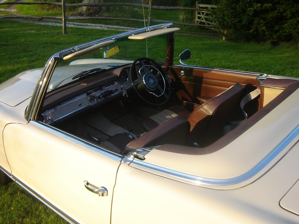 1965 230SL Pagoda , RHD. Matching numbers For Sale (picture 5 of 6)