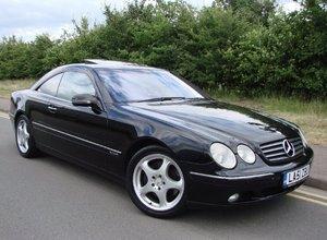 2001 CL600 V12 367bhp Special Edition FSH