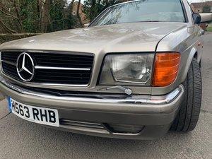 1991 Mercedes Benz 420 SEC 1 owner 'carat duchalet For Sale