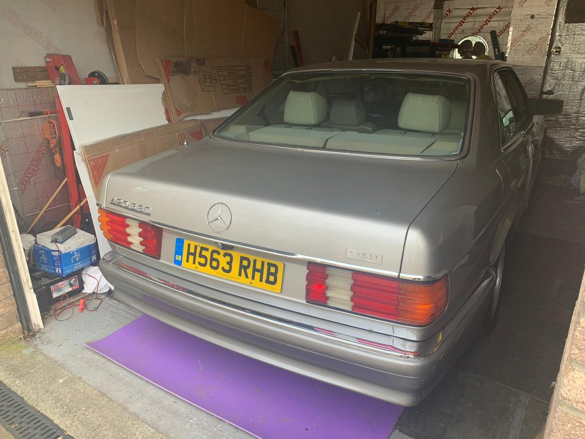 1991 Mercedes Benz 420 SEC 1 owner 'carat duchalet For Sale (picture 6 of 6)