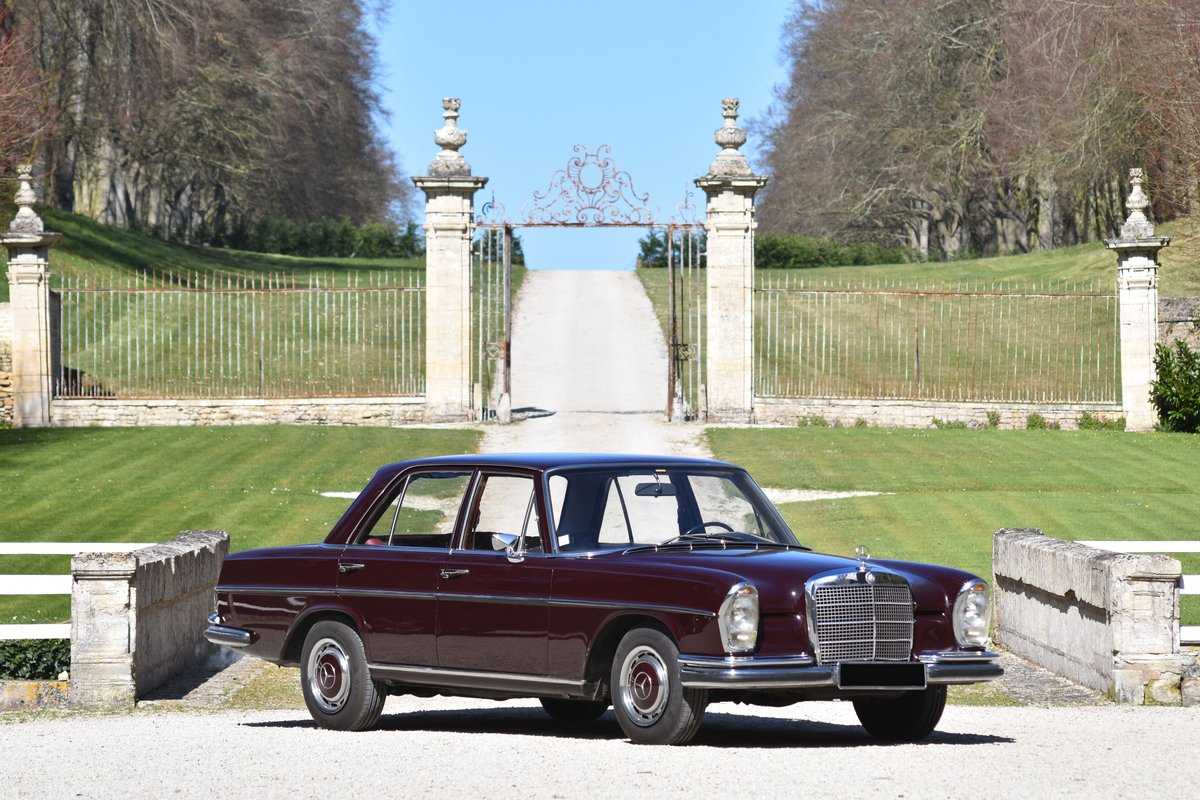 1968 Mercedes Benz 280 SE - NO RESERVE For Sale by Auction (picture 1 of 5)