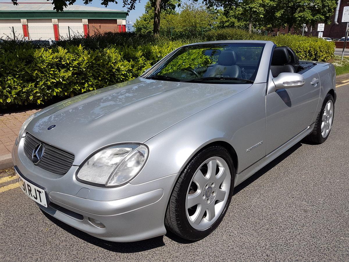 2000 Mercedes Benz SLK 230 Kompressor Automatic. For Sale (picture 1 of 6)