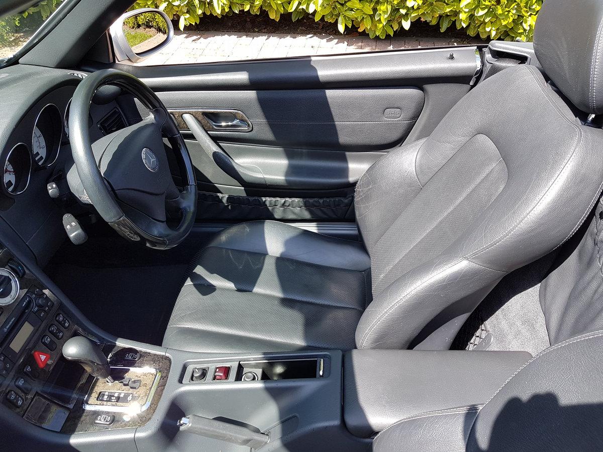 2000 Mercedes Benz SLK 230 Kompressor Automatic. For Sale (picture 5 of 6)