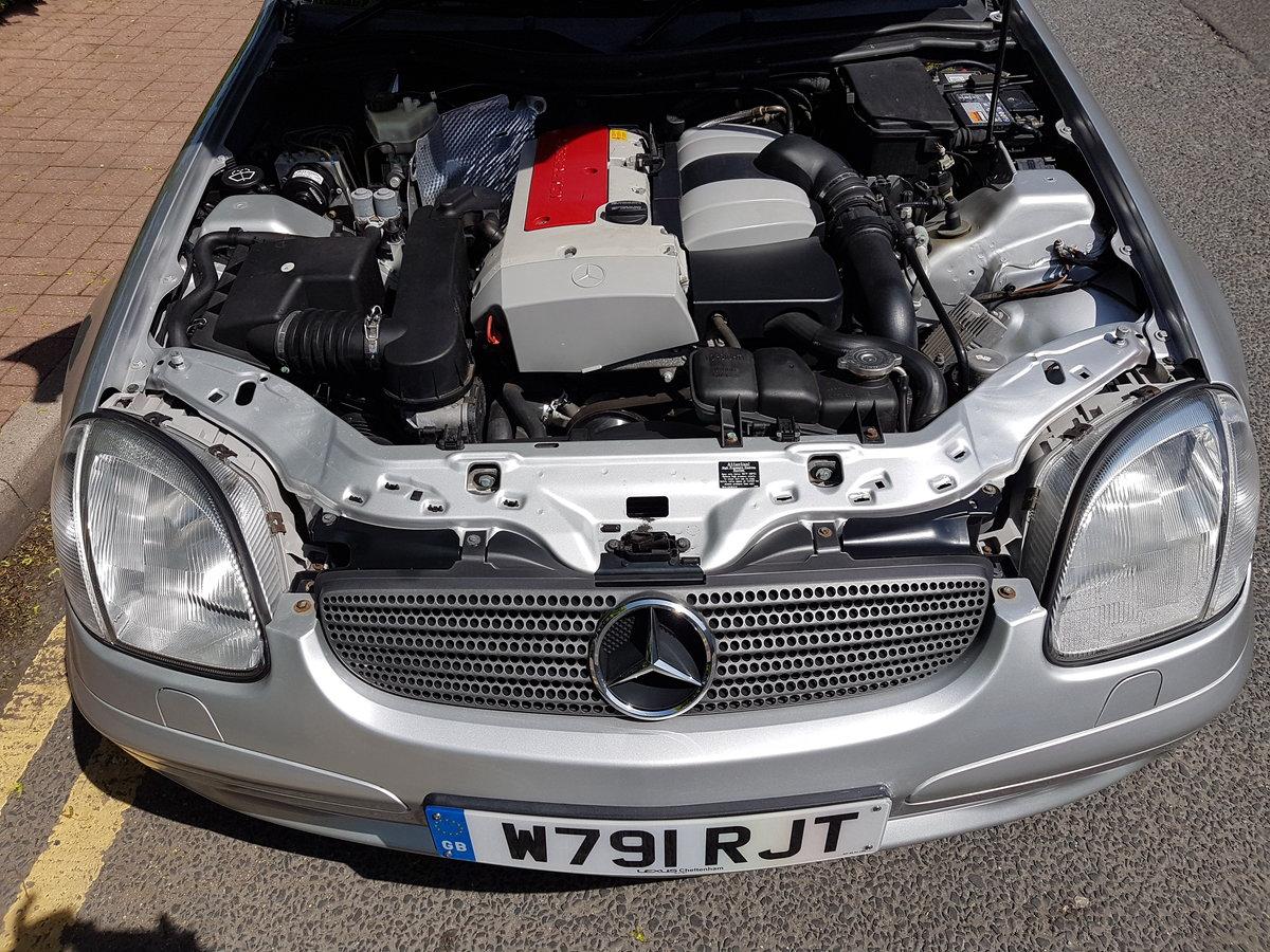 2000 Mercedes Benz SLK 230 Kompressor Automatic. For Sale (picture 6 of 6)
