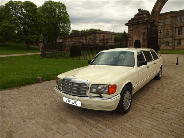 1987 MERCEDES BENZ LIMO 500 SEL STRETCHED For Sale (picture 1 of 6)
