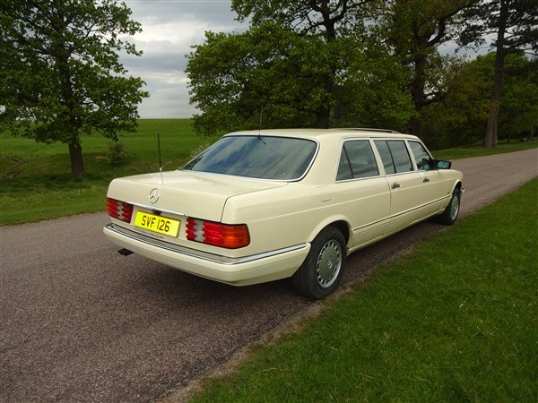 1987 MERCEDES BENZ LIMO 500 SEL STRETCHED For Sale (picture 2 of 6)