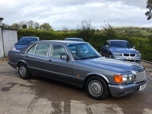 1991 Mercedes 500 SEL For Sale