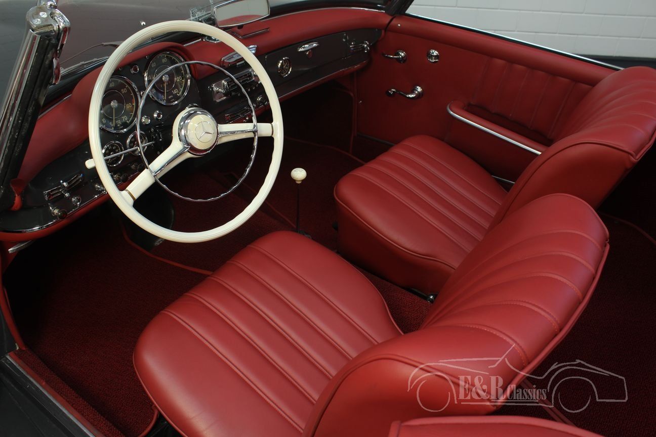 Mercedes Benz 190SL 1960 Restored For Sale (picture 3 of 6)