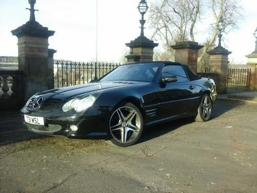 2000 Mercedes SL320 at Morris Leslie Auction 25th May SOLD by Auction (picture 1 of 6)
