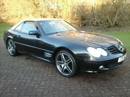 2000 Mercedes SL320 at Morris Leslie Auction 25th May SOLD by Auction (picture 4 of 6)