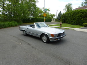 1986 Mercedes 500SL Euro Spec Low Miles Nice Driver - For Sale