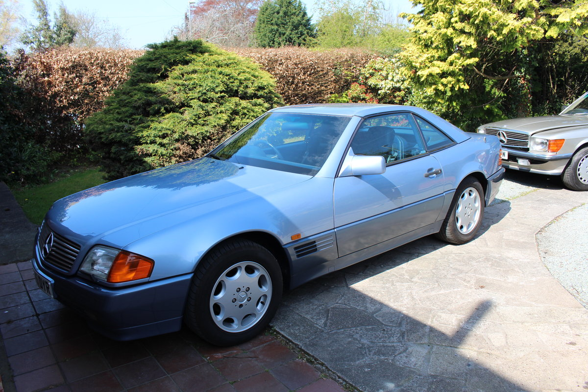 1991 R129 500SL, 42k miles, Superb Condition For Sale (picture 1 of 6)