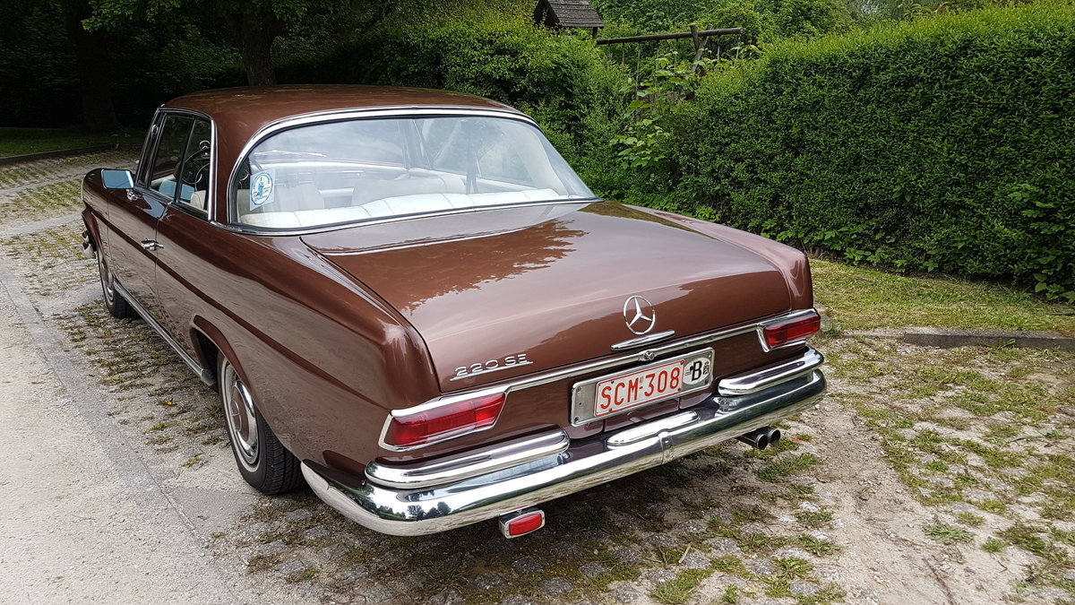Mercedes 220 SE Coupe (1964) For Sale (picture 4 of 6)