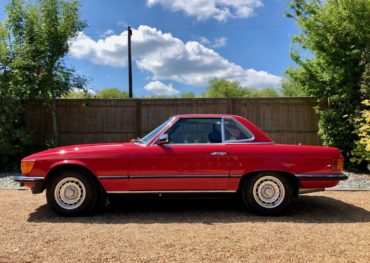 1985/C- Mercedes 280SL R107 **SOLD** 82k. FSH. 300SL 420 For Sale (picture 1 of 6)