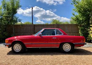 1985 /C- Mercedes 280SL R107 **SOLD** 82k. FSH. 300SL 420