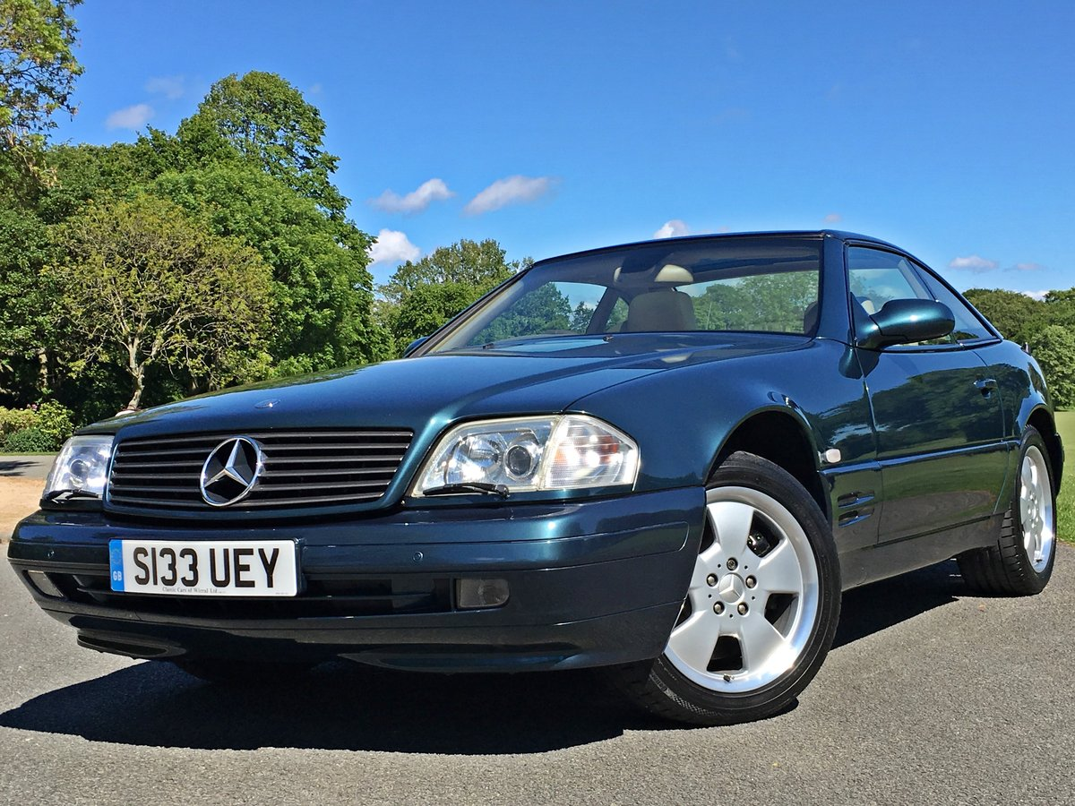 1999 Mercedes SL500 R129 Roadster - UK CAR - 28,582 MILES For Sale (picture 1 of 6)