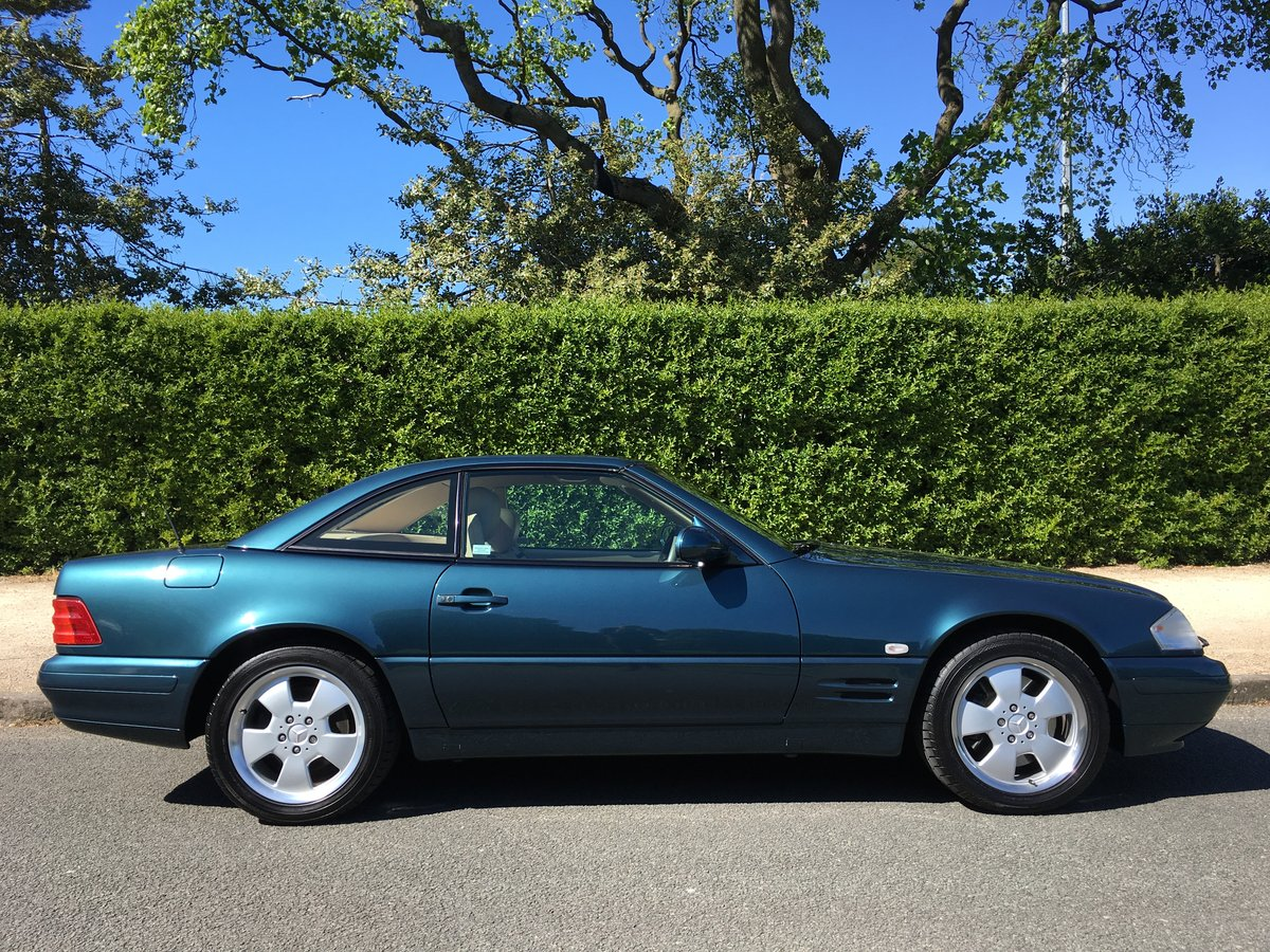 1999 Mercedes SL500 R129 Roadster - UK CAR - 28,582 MILES For Sale (picture 2 of 6)