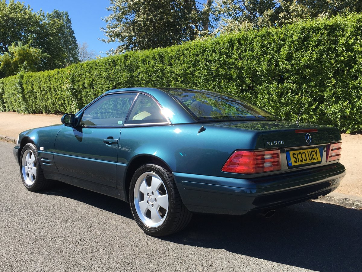 1999 Mercedes SL500 R129 Roadster - UK CAR - 28,582 MILES For Sale (picture 3 of 6)