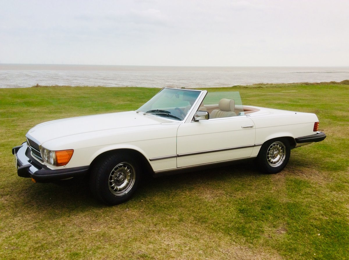 1983 LHD 380SL Cab Auto For Sale (picture 1 of 4)