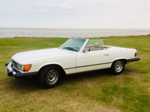 1983 LHD 380SL Cab Auto For Sale