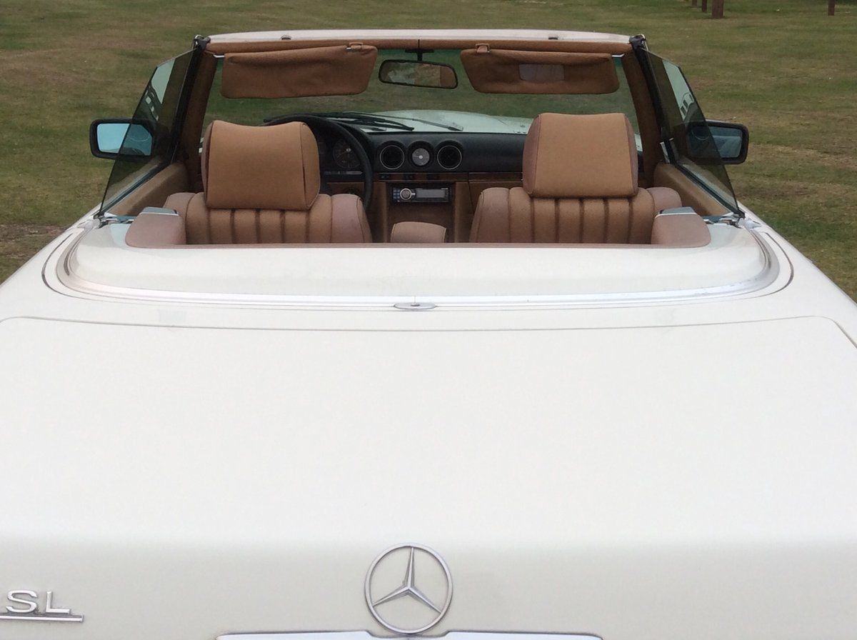 1983 LHD 380SL Cab Auto For Sale (picture 3 of 4)