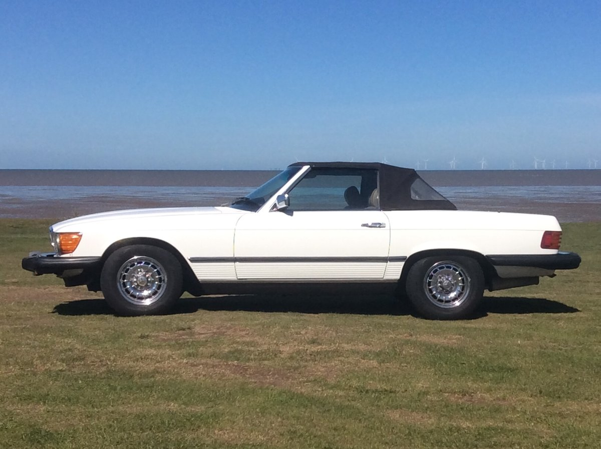 1983 LHD 380SL Cab Auto For Sale (picture 4 of 4)