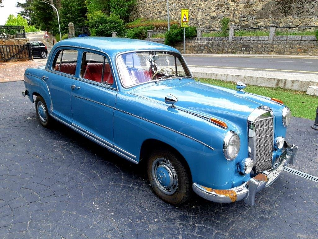 1956 Mercedes-Benz 220S Ponton For Sale (picture 1 of 6)