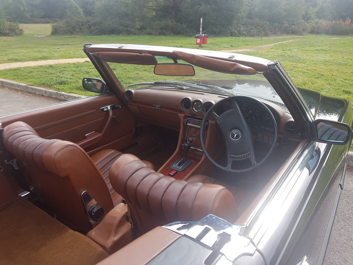 Mercedes Benz 350SL Convertible,1972 (R107)  For Sale (picture 4 of 6)