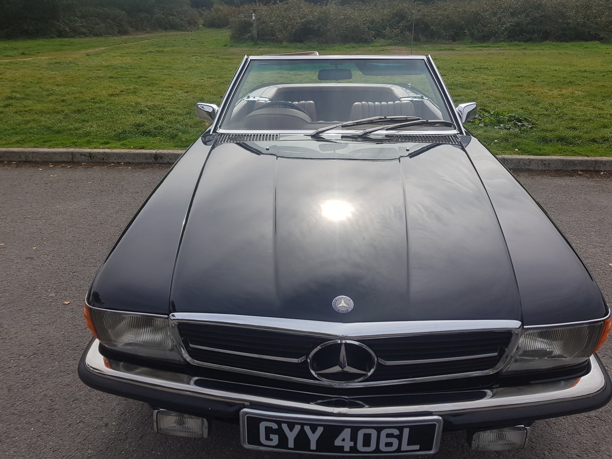 Mercedes Benz 350SL Convertible,1972 (R107)  For Sale (picture 6 of 6)