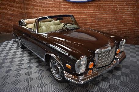 1971 Mercedes Benz 280SE 3.5 Cabriolet = Brown(~)Tan $299.5k For Sale (picture 1 of 6)