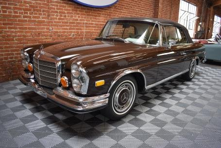 1971 Mercedes Benz 280SE 3.5 Cabriolet = Brown(~)Tan $299.5k For Sale (picture 2 of 6)