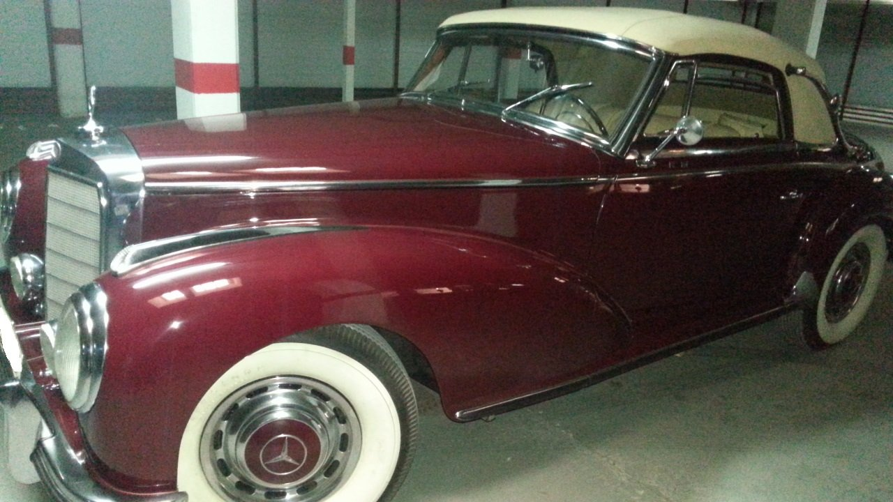 1952 Mercedes 300s coupe cabriolet For Sale (picture 1 of 3)