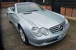2004 350 SL Convertible - Barons Tuesday 4th June 2019 For Sale by Auction