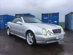 2001 Mercedes CLK320 Avantgarde Auto at Morris Leslie Auction SOLD by Auction