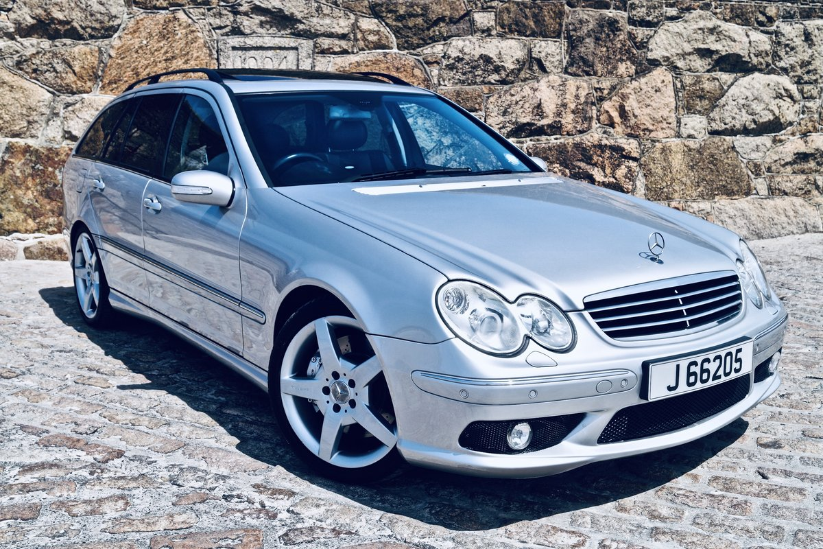 2005 C55 AMG estate - Channel Island car from new - FMSH -2 owner SOLD (picture 6 of 6)