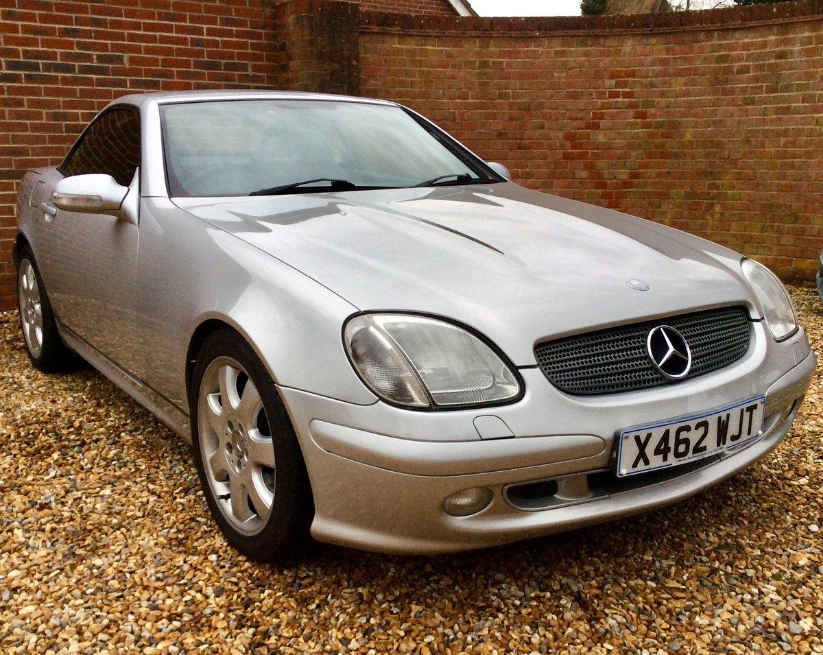 2000 Mercedes V6 SLK320 convertible  49600 miles FSH For Sale (picture 6 of 6)