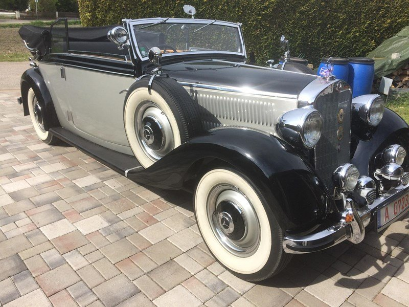 1938 REDUCED - CONCOURSE PRE-WAR RHD MERCEDES 230B CABRIOLET For Sale (picture 1 of 6)