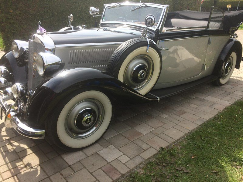 1938 REDUCED - CONCOURSE PRE-WAR RHD MERCEDES 230B CABRIOLET For Sale (picture 2 of 6)
